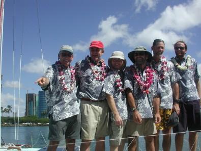 2005 crew finish
