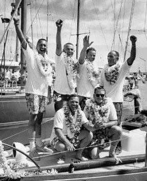 1965 Transpac Psyche crew